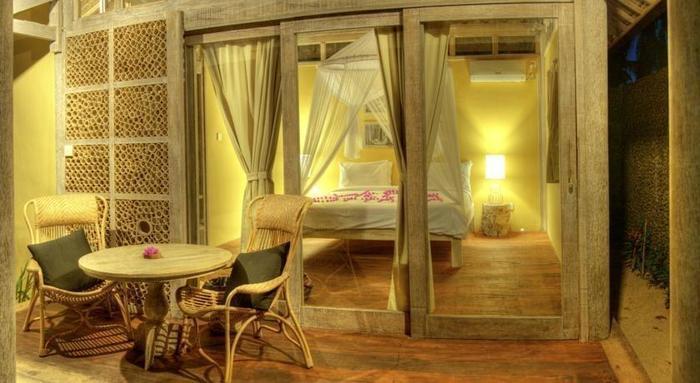 Les Villas Ottalia Gili Meno Lombok - Teras