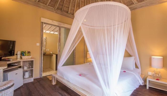 Les Villas Ottalia Gili Meno Lombok - Bedroom