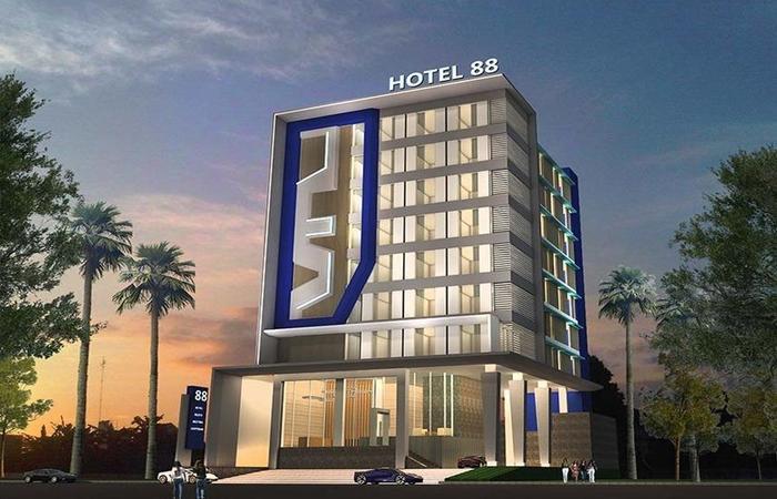 Hotel 88 Kedungsari ( Kedungdoro ) Surabaya - Bangunan