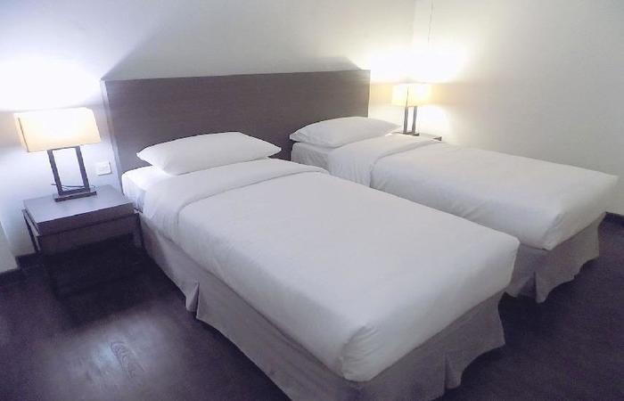 Samala Hotel Jakarta, Cengkareng Jakarta - tempat tidur Twin
