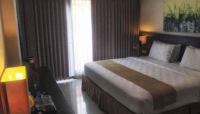 Hardys Rofa Hotel Legian - Ruang Tidur