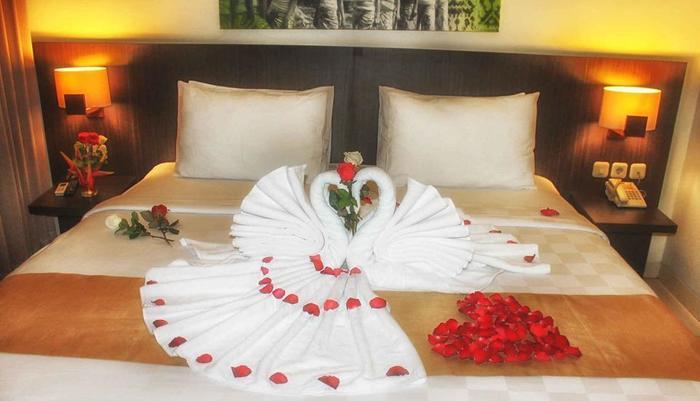 Hardys Rofa Hotel Legian - Honeymoon Setup