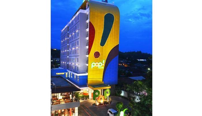 POP Hotel Tanjung Karang - Tampilan Luar Hotel