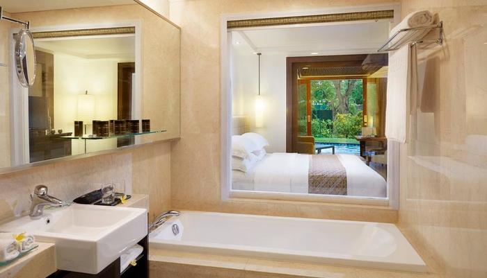 Melia Bali-Indonesia Bali - Premium lagoon bathroom