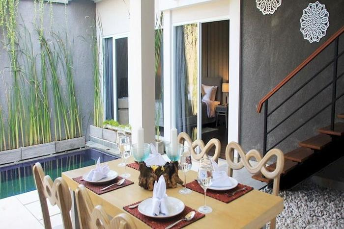 Bellevue Heritage Villas Bali - Ruang makan