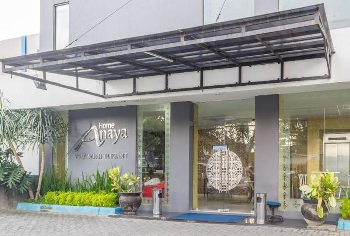 Anaya Home Hotel Medan - Building of anaya hotel