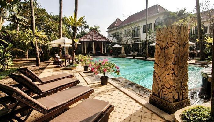 Saraswati Borobudur - Hotel View