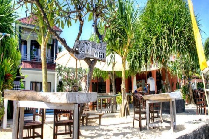 Tarci Bungalows Bali - Ruang makan