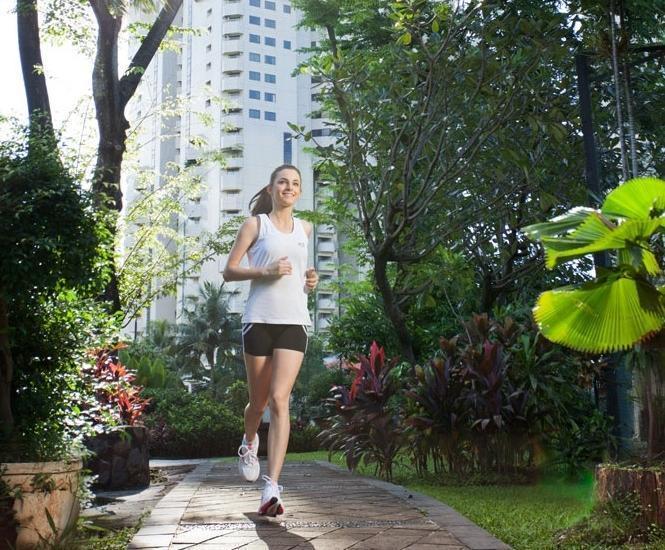 The Sultan Hotel Jakarta - Jalur jogging