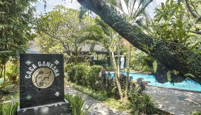 Casa Ganesha Hotel Bali - View Taman