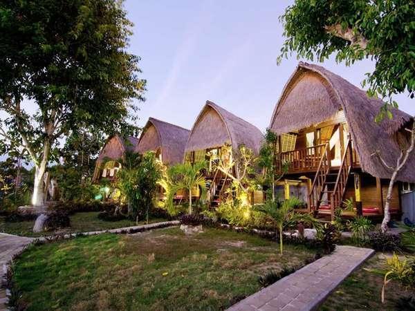 Lotus Garden Huts Bali - Tampak Luar
