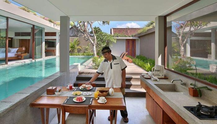 Ziva a Boutique Villa Bali - Ruang makan
