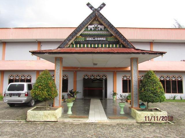PIA Hotel Padang Sidimpuan Medan - Tampak depan hotel