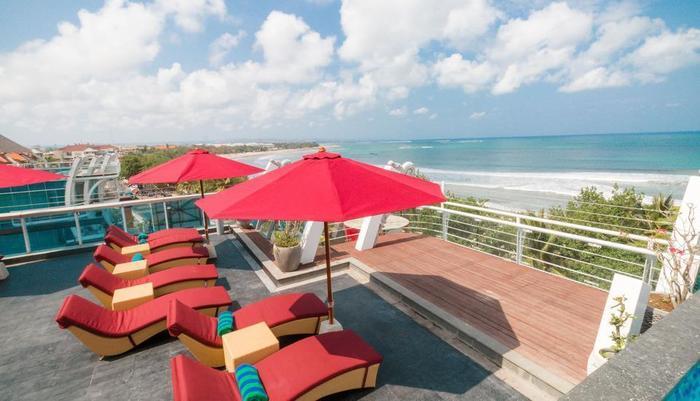 Kutabex Hotel Bali - Rooftop Area