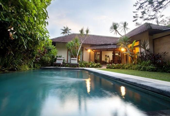 Villa Coco Bali - Area kolam renang