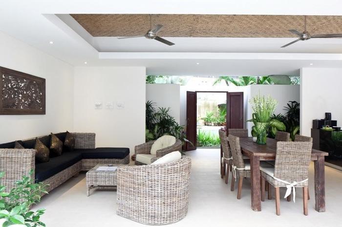 Villa Coco Bali - ruang tamu Villa 2 bedroom
