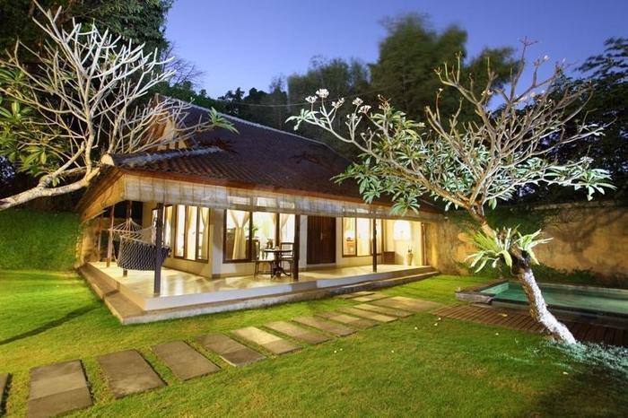 Villa Coco Bali - taman Villa 1 bedroom