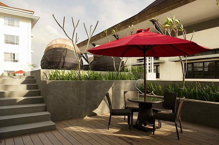 Hotel Grand Zuri Yogyakarta - Balkon