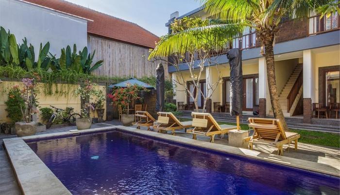 RedDoorz @ Tegal Sari Berawa Bali - Kolam Renang
