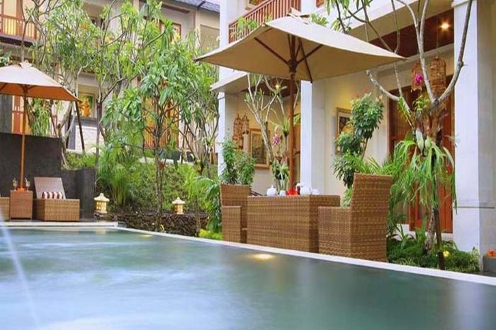 Tebesaya Cottage Bali - Kolam Renang
