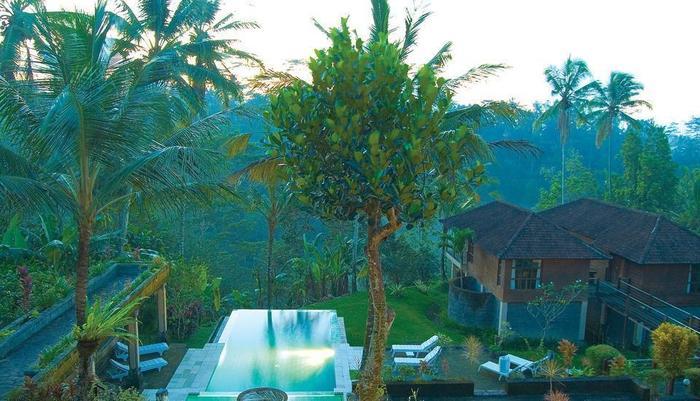 Puri Saron Hotel Gianyar Bali - Pool