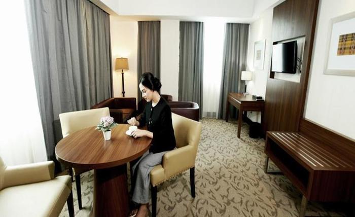 Demelia Hotel Makassar - Kamar tamu