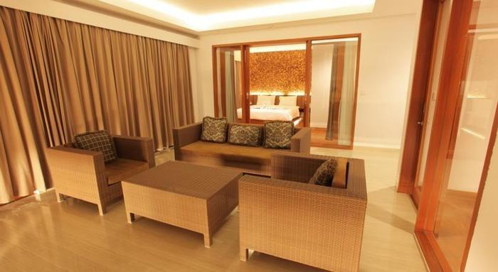 Aquarius Star Hotel Kuta - Ruang tamu