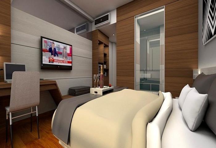 Hotel Santika Radial Palembang Palembang - Kamar Superior