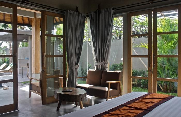 Villa Kayu Lama Bali - Ruang Tamu