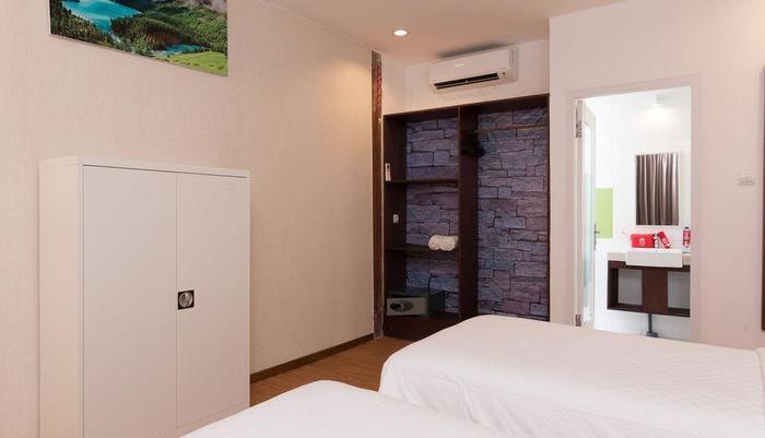 ZEN Villa Gili Trawangan Kepiting Lombok - Tempat Tidur Double