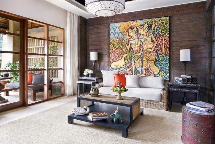 Mandapa, Ritz-Carlton Reserve Ubud - Living Area