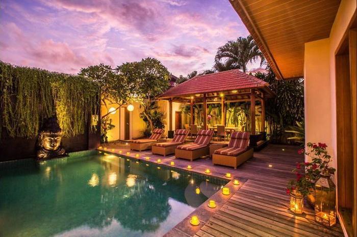 Villa Seriska Dua Sanur Bali - Outdoor Pool