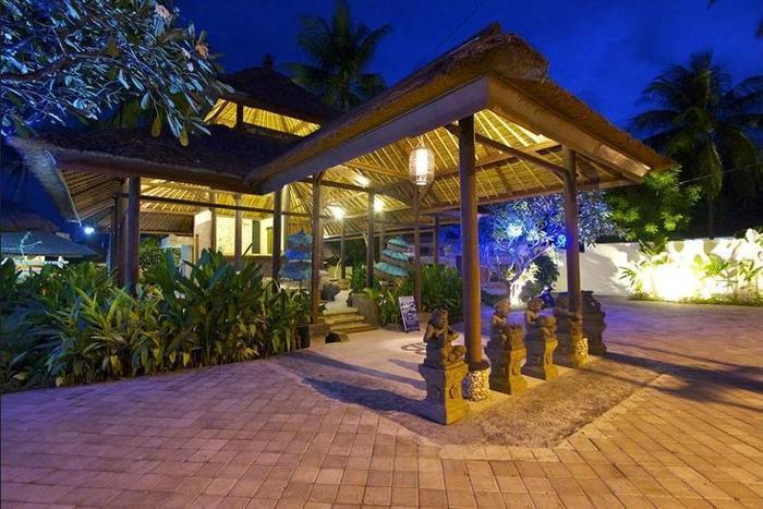 Bayshore Villas Candi Dasa - Property Grounds