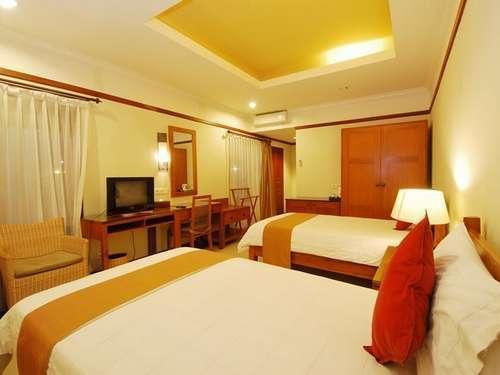 Yulia Beach Inn Bali - Deluxe Tempat Tidur Twin