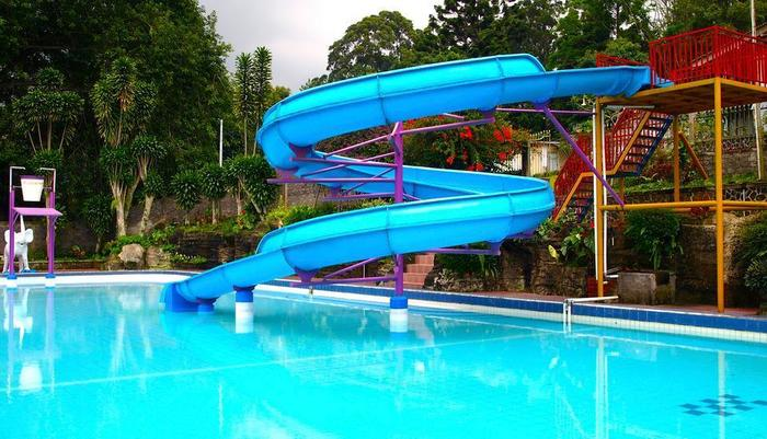 Selabintana Resort Sukabumi - Kolam Renang dan waterboom