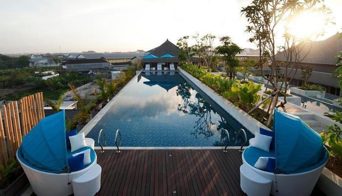 Ramada Bali Sunset Road Kuta - Kolam Renang - Rooftop