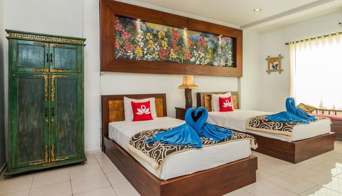 ZenRooms Ubud Dewi Sita Bali - Tempat tidur Twin