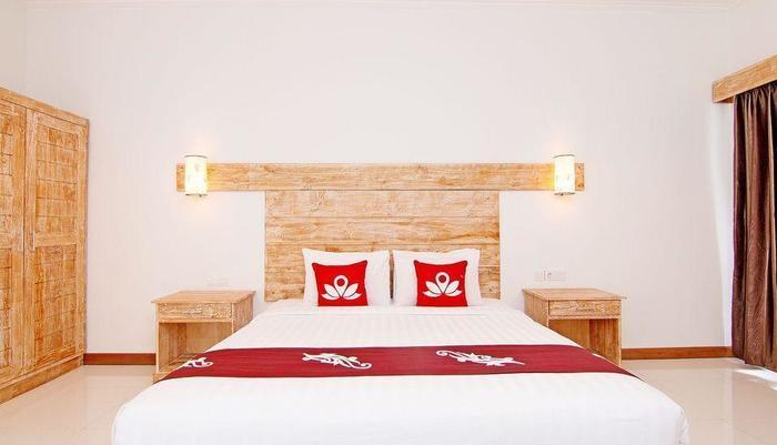ZenRooms Lovina Rice Field and Ocean View Bali - Tampak tempat tidur double