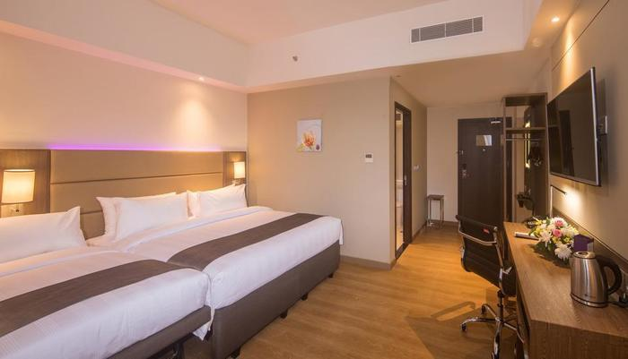 Olympic Renotel Sentul - Family room dengan set up extra bed