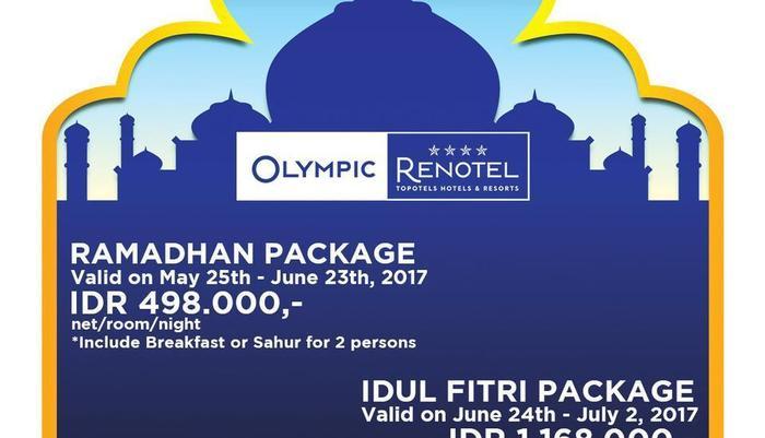 Olympic Renotel Sentul - Ramadhan Package
