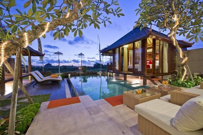 Paddy View Villa Bali - Kolam Renang