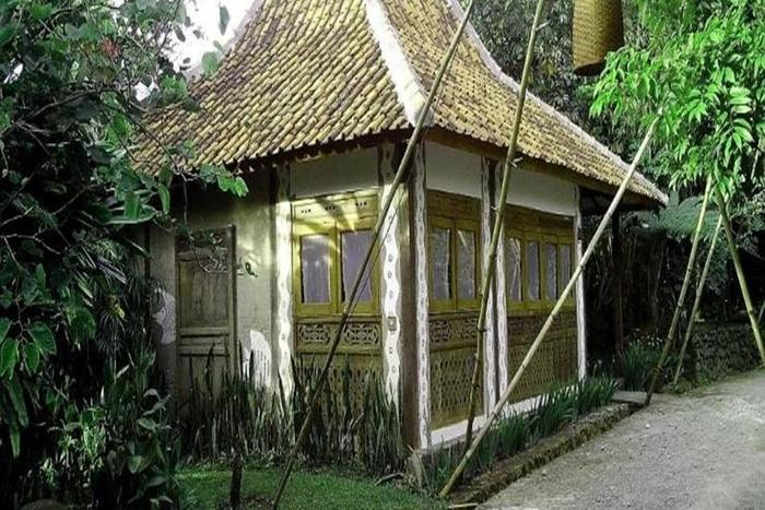 Sapu lidi Resort Hotel Bandung - Eksterior