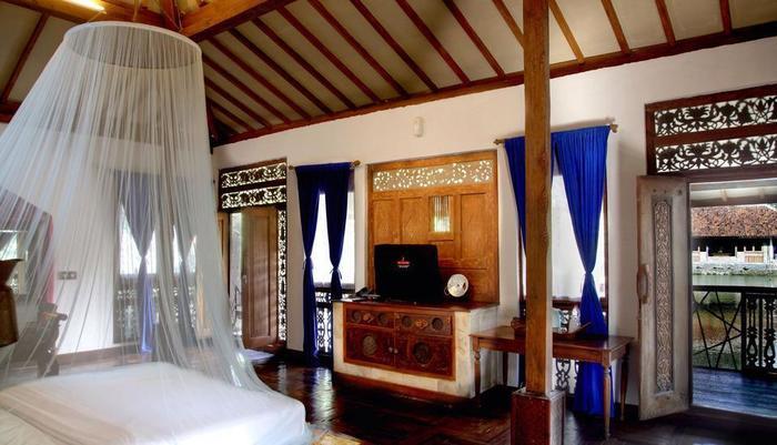 Sapu lidi Resort Hotel Bandung - Kamar tidur di kamar executive