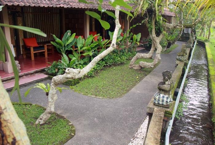 Jati Homestay Ubud - hostel lingkungan