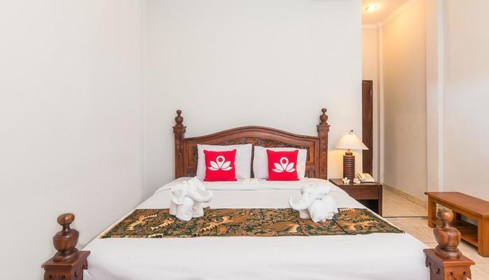ZenRooms Ubud Bisma 1 - Tampak tempat tidur double