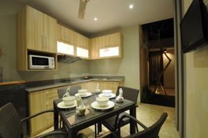 Jas Boutique Villas Bali - Dapur dan Ruang Makan