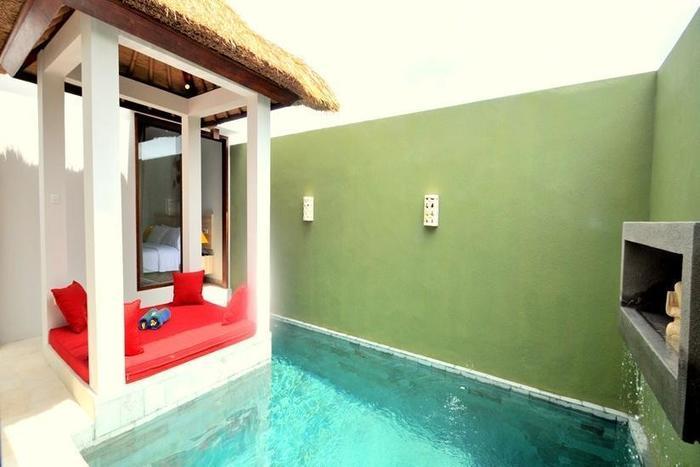 Jas Boutique Villas Bali - Kolam Renang