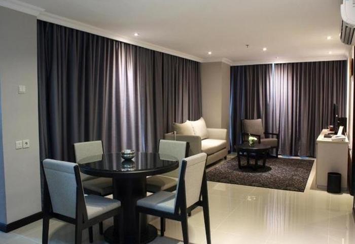 Hotel Kristal Jakarta - Ruang tamu