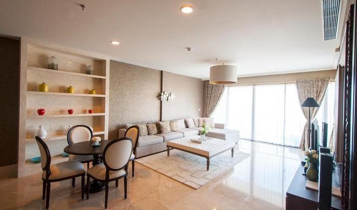 Ayana Residences Jasmine 3A Bali - Ruang tamu