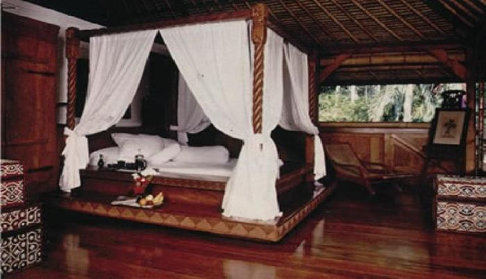 Puri Bayu Villa Kedewatan Bali - Kamar tidur